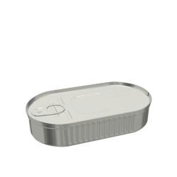 Oval Food Can (148x81x25mm)