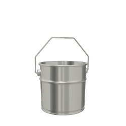 3L Cylindrical Paint & Coating Pail