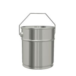 4.6L Cylindrical Paint & Coating Pail