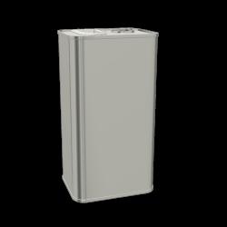5.5L Rectangular Paint & Coating Can (159x120x288mm)