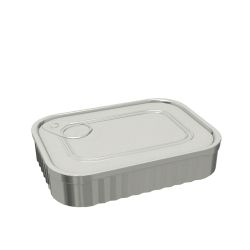 125ml Rectangular Food Can