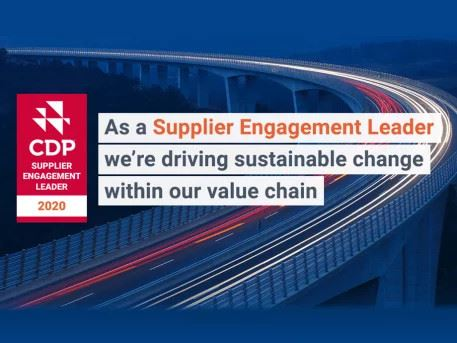 Trivium designated supplier engagement leader by carbon disclosure project