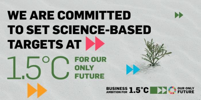 Trivium commits to the Science Based Targets initiative
