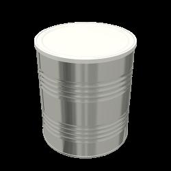 Steel Cylindrical ø99x123.5 - 2x4