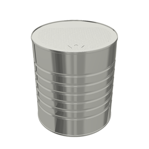 Steel Cylindrical ø127x146 - 6x1